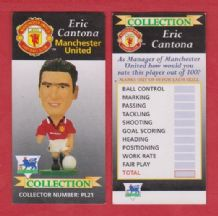 Manchester United Eric Cantona France PL21